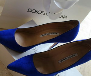 shoes, blue, and style image