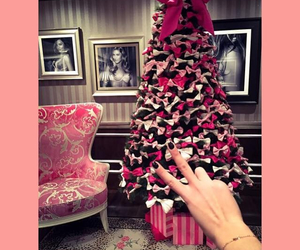 christmas tree, love, and family image