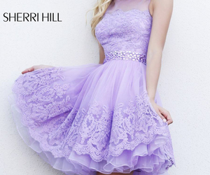 dress, fashion, and girlie image
