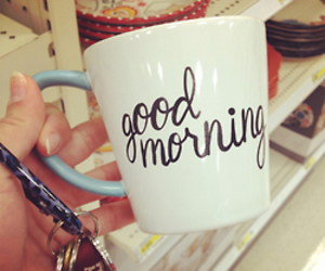 cup, good morning, and morning image