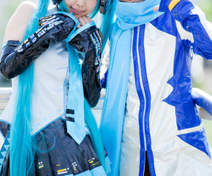 cosplay, kaito, and vocaloid image