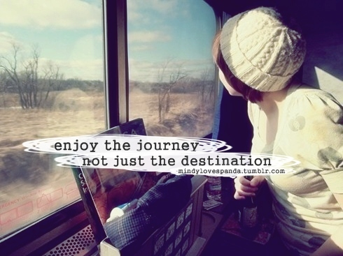 Enjoy Journey Life Photography Quote Inspiring Picture On