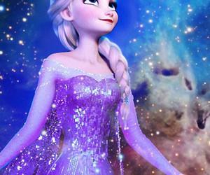 frozen, Queen, and elsa image