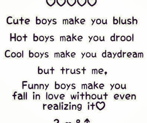 boy, love, and funny image