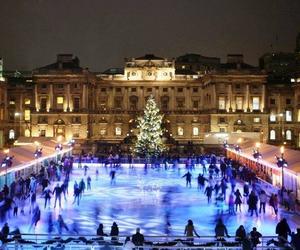 christmas, london, and winter image
