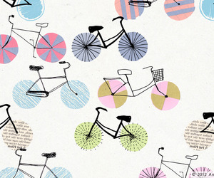 bike, wallpaper, and cute image