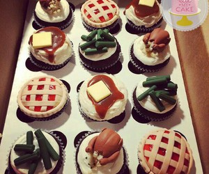 cupcakes and thanksgiving image