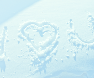 beautiful, I Love You, and snow image