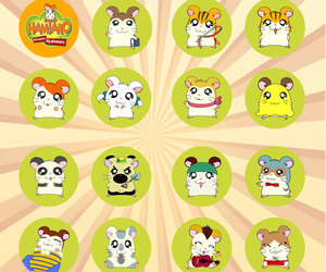 animals, hamtaro, and kawaii image