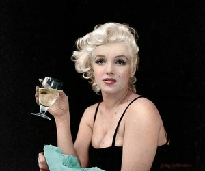 Marilyn Monroe, blonde, and beauty image