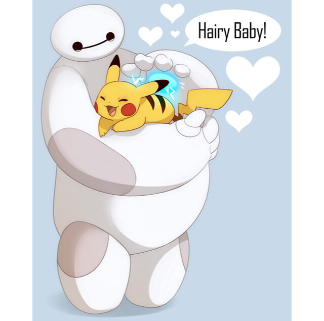 Baymax X Pikachu Shared By Febiola On We Heart It