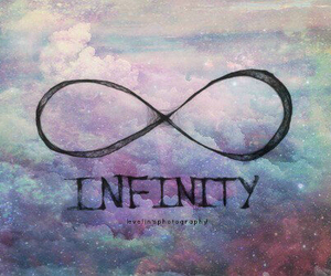 infinity, galaxy, and sky image