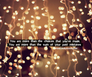lights and quote image