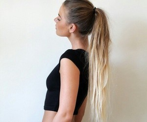 blond, fasion, and love image