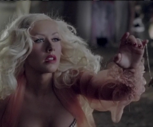 aguilera, hurt, and xtina image