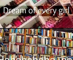 book, shoes, and Dream image