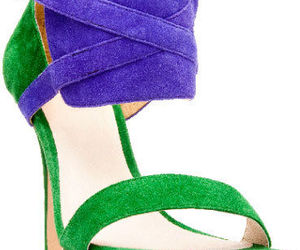 heels and colour block image