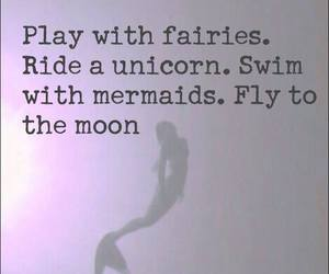 Fairies, fly, and mermaids image