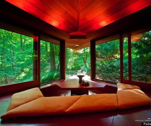 architecture, home, and relax image