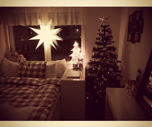 christmas, pillow, and star image