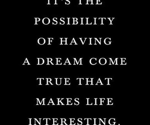 Dream, life, and life lessons image