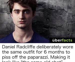 daniel, facts, and radcliffe image