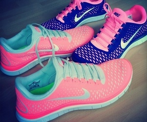 fitness, lovely, and nike image