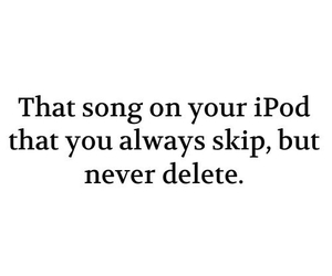 ipod, song, and music image