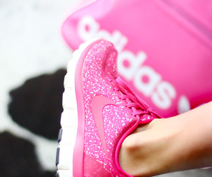 frost, nike, and pink image