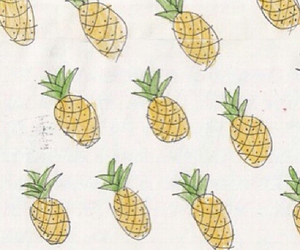 pineapple, wallpaper, and food image