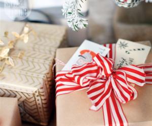 christmas, christmas gifts, and wraping image
