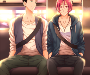 sourin, free!, and sousuke yamazaki image