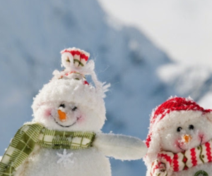 christmas, snow, and snowmean image