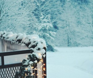 beautiful, winter, and christmas image