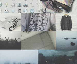 gray, grunge, and indie image