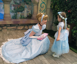 cinderella, disney, and disneyland image