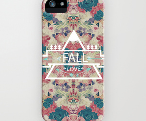 case, fall, and flowers image