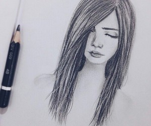 drawing, draw, and pencil image