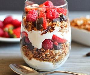 granola, breakfast, and delicious image