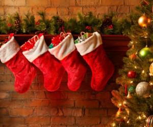 christmas tree, fireplace, and xmas image