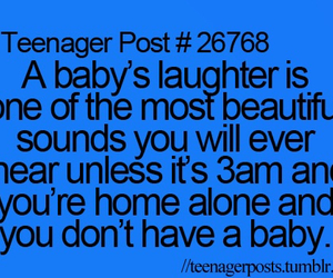 teenager post, baby, and funny image