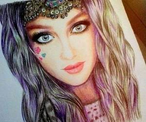 dibujo, perrie, and beautiful drawing image