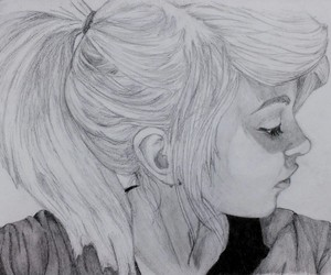 beatiful, black, and drawing image