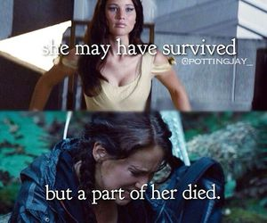 katniss, hunger games, and thg image