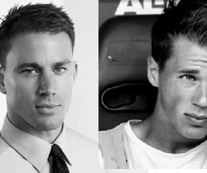 black and white, boy, and channing tatum image