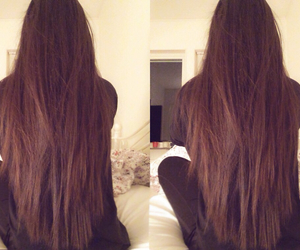 long hair, tumblr, and we heart it image