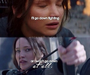 fire, katniss, and games image