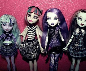 doll, frankie, and monsters image