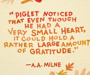 piglet, quote, and pooh image