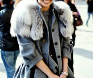 coat, fashion, and street image